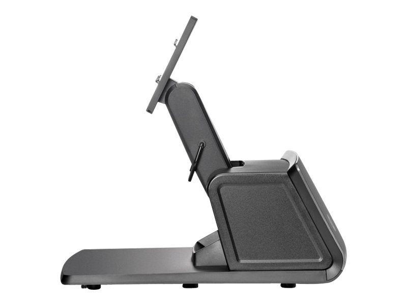 HP monitor height-adjustable stand