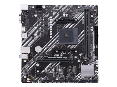 ASUS PRIME A520M-K - motherboard - micro ATX - Socket AM4 - AMD A520