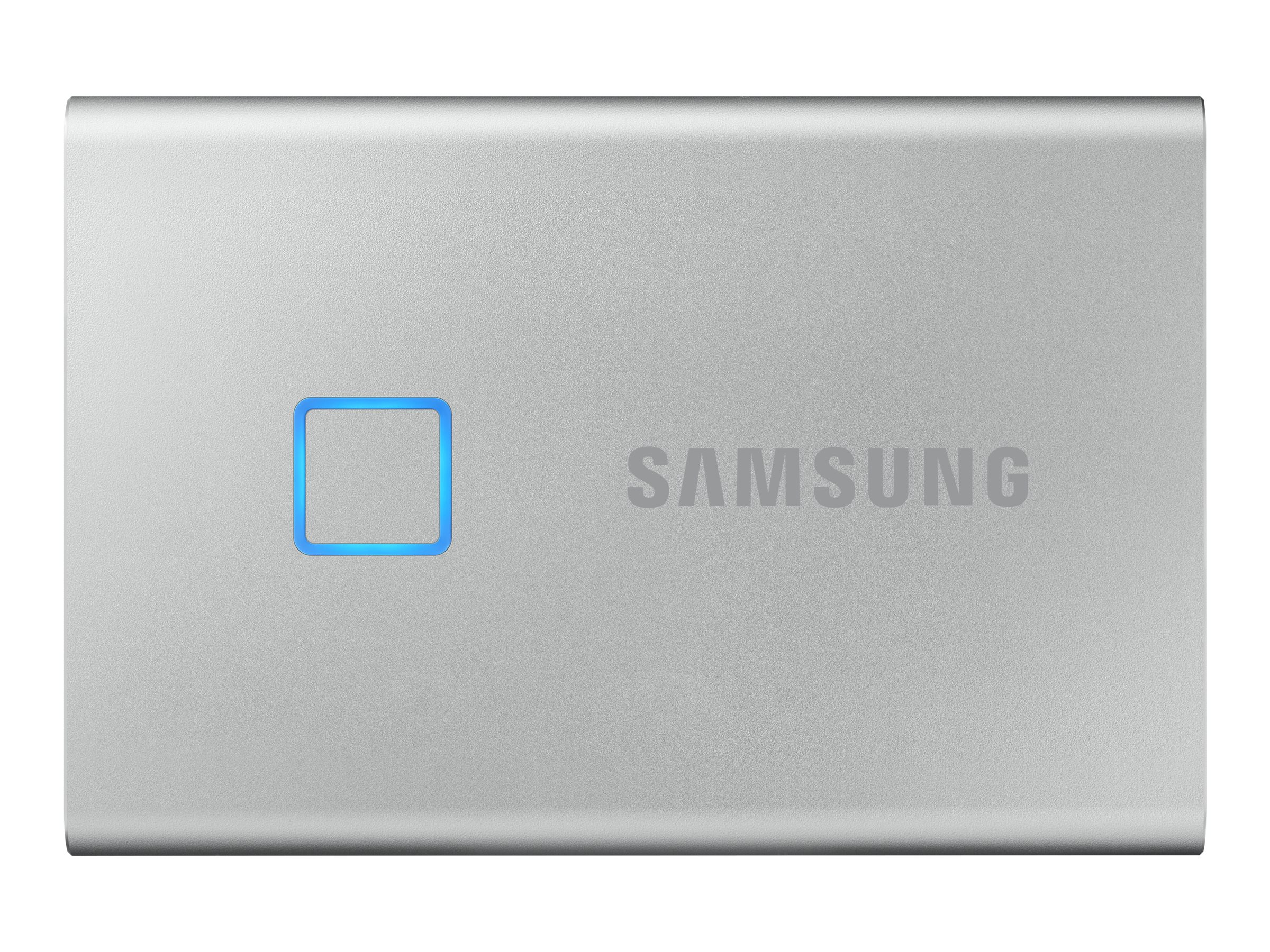 Samsung Portable SSD T7 Touch MU-PC1T0S - solid state drive - 1 TB - USB 3.2 Gen 2 -