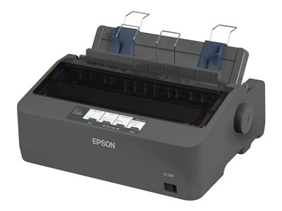 Epson LX 350 Printer B/W dot-matrix 9 pin up to 357 char/sec para