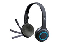 Logitech Wireless Headset H600 - Micro-casque - sur-oreille - 2,4 GHz - sans fil