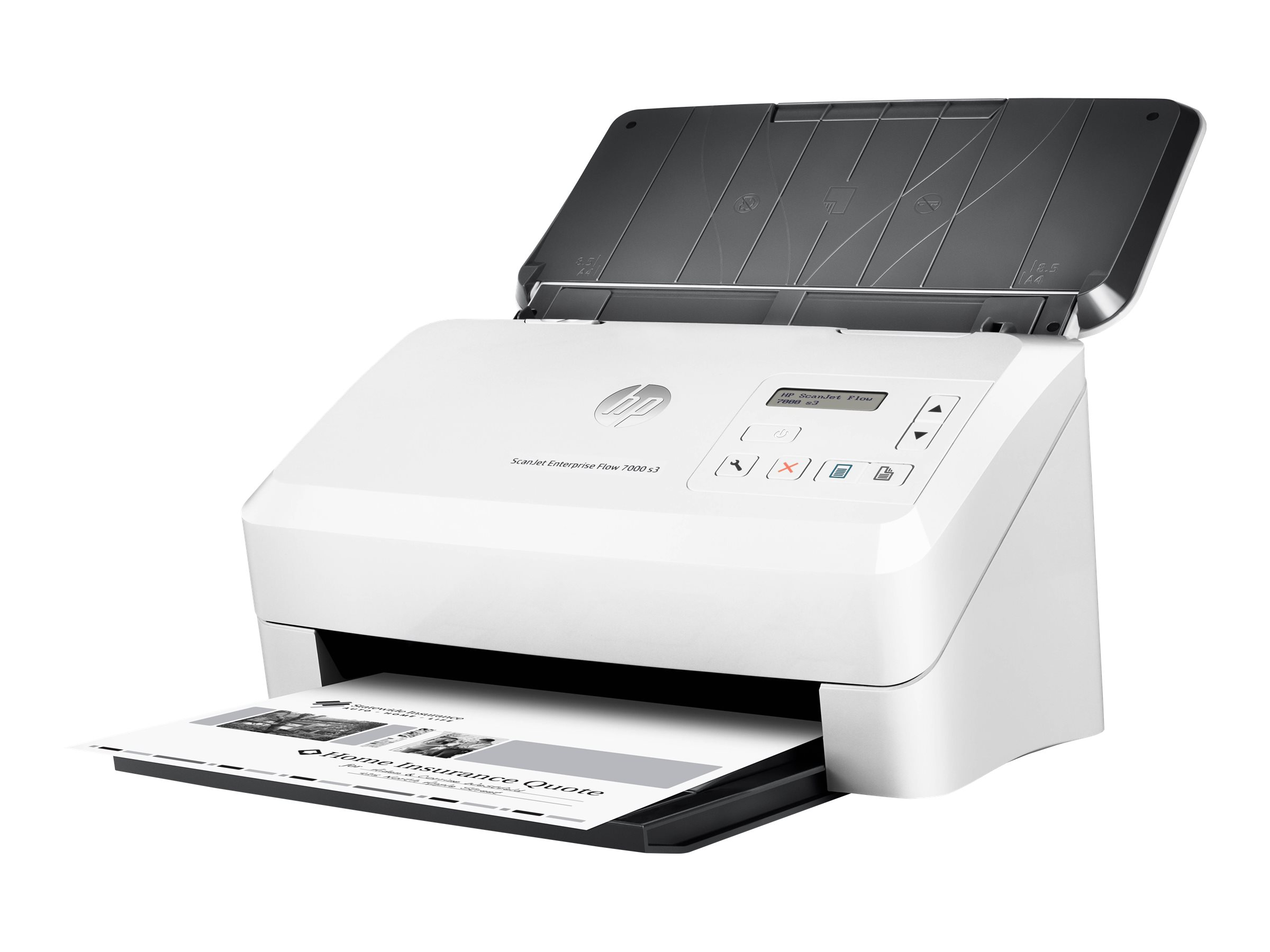 HP ScanJet Enterprise Flow 7000 s3 Sheet-feed Scanner - document scanner - desktop - USB 3.0, USB 2.0