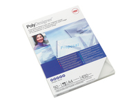 GBC PolyClearView - A4 (210 x 297 mm) - 450 micron - frosted clear - 50 pcs. binding cover - for CombBind ibiMaster 250e