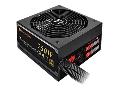 Thermaltake ToughPower 750W GOLD (Modular) - Stromversorgung (intern) - ATX12V 2.3/ EPS12V 2.92 - 80 PLUS Gold - Wechselstrom 100-240 V - 750 Watt