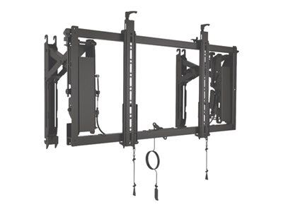 Chief ConnexSys Wall mount for video wall black screen size: 42INCH-80INCH
