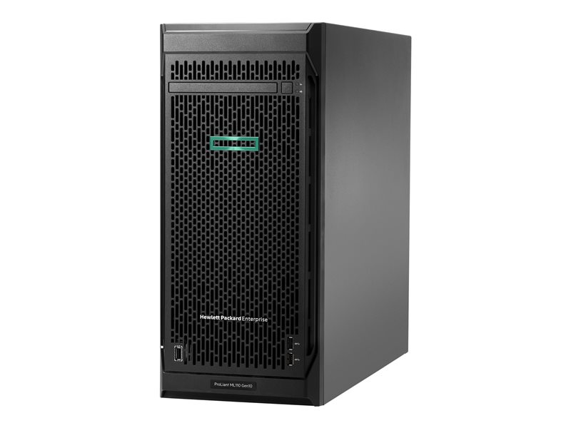 HPE ProLiant ML110 Gen10 Performance - tower - Xeon Silver 4108 1.8 GHz - 16 GB - ingen HDD