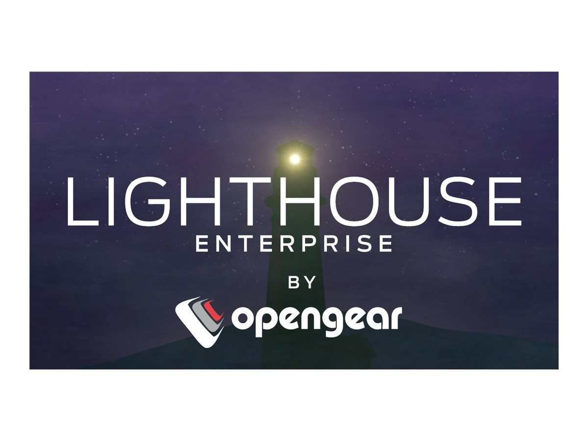 Opengear Lighthouse Enterprise - subscription license (3 years) - 1 node