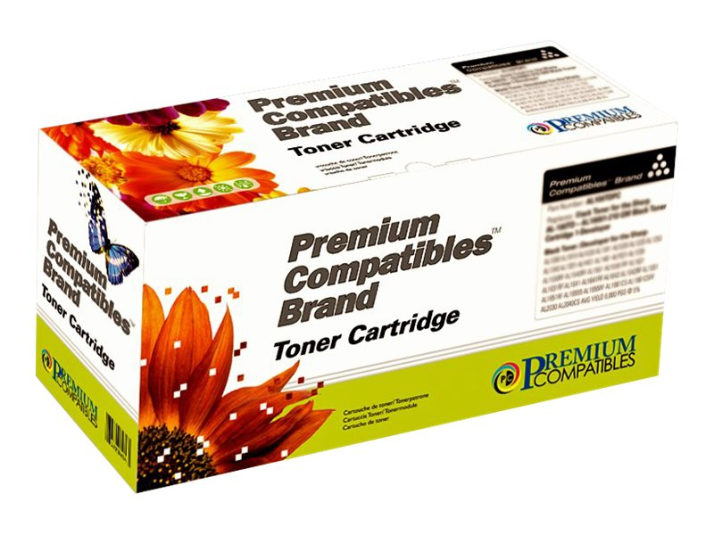 Premium Compatibles - cyan - toner carrier (alternative for: OKI Type C6)