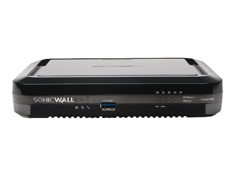 SONICWALL SOHO 250 SECURE UPGRADE PLUS ADVANCED EDITION