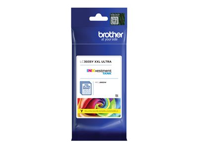 Brother LC3035Y Ultra High Yield yellow original ink cartridge