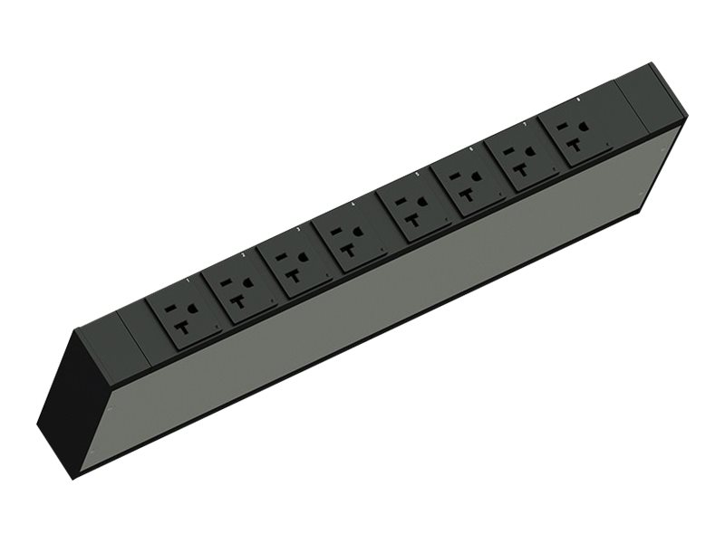Legrand Rack PDU, Network Switched, 1U, 12A, 120V, (8) 5-20R, 5-15P Cord - power distribution unit - 1400 VA