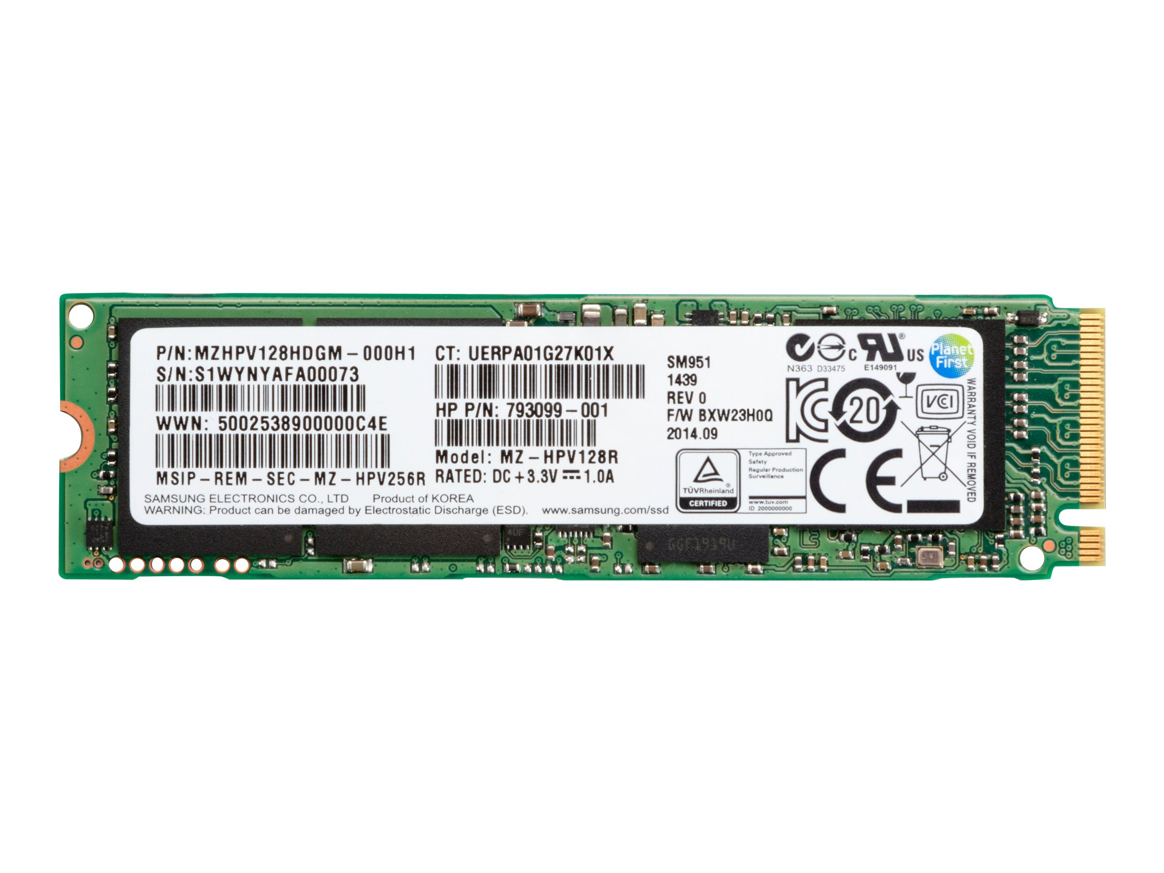 HP - Solid-State-Disk - 1 TB - intern - M.2 2280 - PCI Express 3.0 x4 (NVMe)