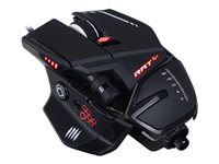 Mad Catz R.A.T.6+ Mouse optical 11 buttons wired USB black