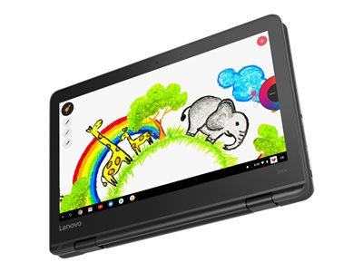 Lenovo 300e Chromebook (1st Gen) 81H0 Flip design MT8173c 1.3 GHz Chrome OS 4 GB RAM  image