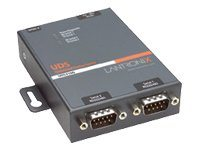 Lantronix Device Server UDS2100 Two Port Serial (RS232/ RS422/ RS485) to IP Ethernet - Geräteserver - 2 Anschlüsse - 100Mb LAN, RS-232, RS-422, RS-485