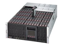 Supermicro SuperStorage Server 6048R-E1CR60N Server rack-mountable 4U 2-way RAM 0 MB