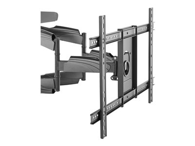 StarTech.com TV Wall Mount supports up to 70 inch VESA Displays, Low Profile Full Motion Universal TV Flat Screen Wall Mount Heavy Duty Adjustable Tilt/Swivel Articulating Arm Bracket - Cable Management (FPWARTB2)