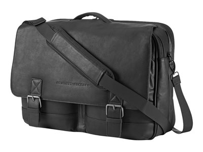 Executive Leather Messenger - borsa trasporto notebook