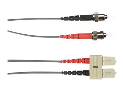 Black Box patch cable - 15 m - gray