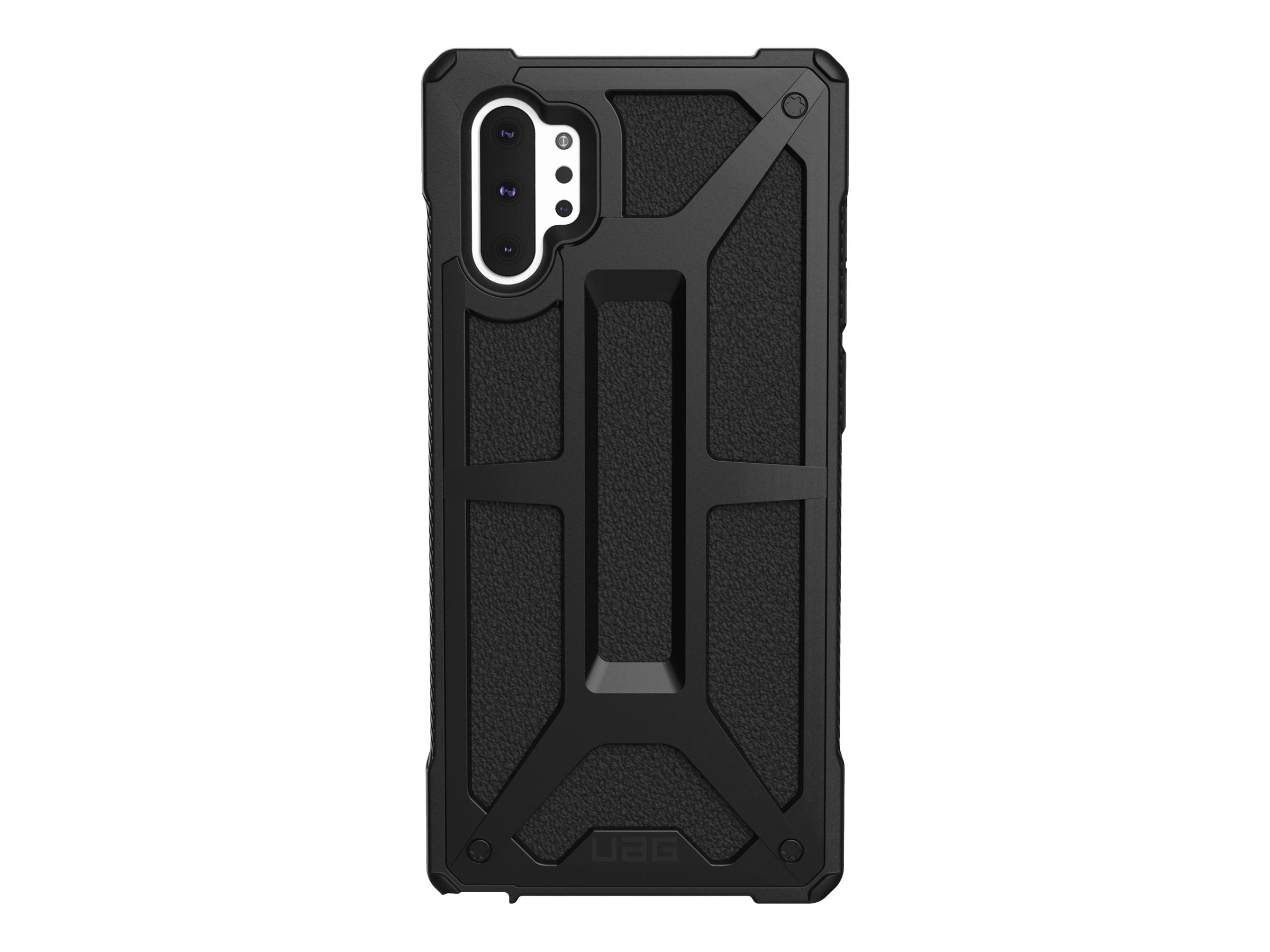 UAG Rugged Case for Samsung Galaxy Note10+ [6.8-inch] - Monarch Black - back cover for cell phone