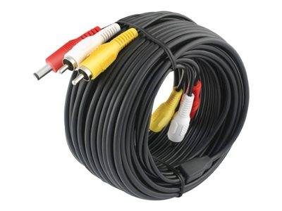 Swann Advanced-Series Video / audio / power cable kit 59 ft