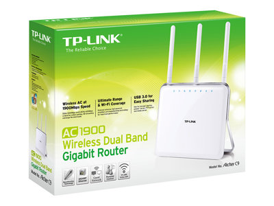 TP-Link ARCHER C9 AC1900 1.9Gbps 4-port switch