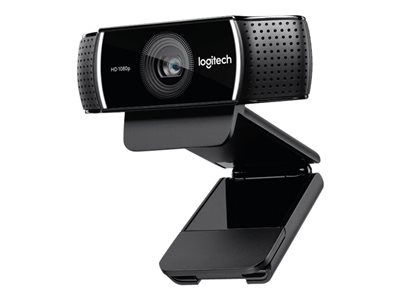 Logitech HD Pro Webcam C922 Web camera color 720p, 1080p H.264