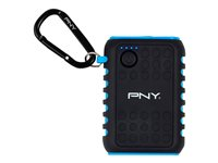 PNY The Outdoor Charger - Banque d'alimentation - 7800 mAh - 2.1 A (USB) - sur le câble : Micro-USB, mini-USB