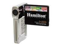 Hamilton HDV5200-1 Camcorder 720p 5.0 MP flash card