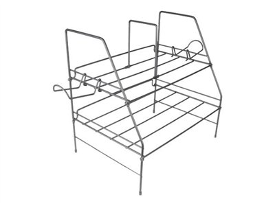 Atlantic Game Keeper Game Depot Wire Gaming Rack Stand for game console steel wire