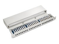 equip - Patch Panel - Schwarz - 48.3 cm (19