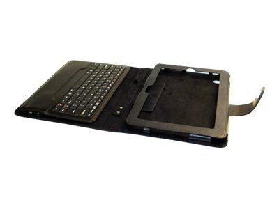 Fujitsu Folio Case with Removable Bluetooth Keyboard - tablet PC carrying case