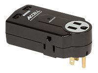 Accell Home or Away Power Station - surge protector - 1.8 kW