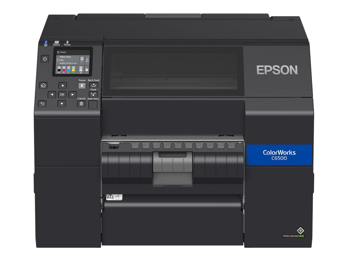 Epson ColorWorks CW-C6500P - label printer - color - ink-jet