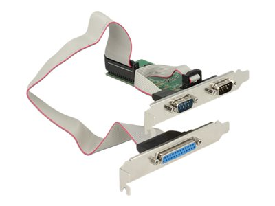 DeLock PCI Express Card > 2 x Serial RS-232 + 1 x Parallel