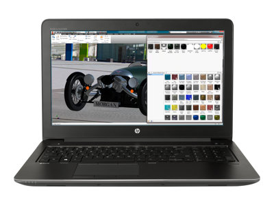 HP ZBook 15 G4 Mobile Workstation Core i7 7700HQ / 2.8 GHz Win 10 Pro 64-bit 8 GB RAM