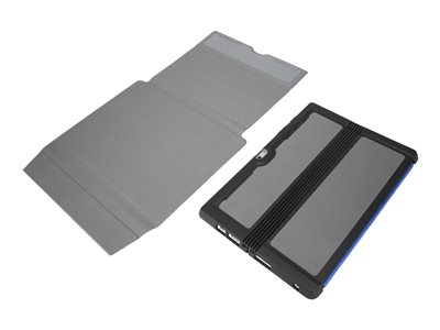 Targus Folio Wrap + Stand Flip cover for tablet thermoplastic polyurethane (TPU) black