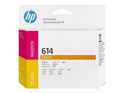 HP 614 - yellow, magenta - original - printhead