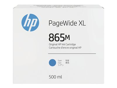 HP 865M - cyan - original - PageWide XL - ink cartridge