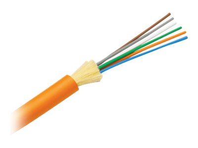 Panduit Opti-Core Fiber Optic Distribution Cable - bulk cable - 2500 m - orange