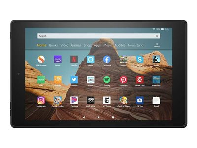 Amazon Fire HD 10 9th generation tablet 32 GB 10.1INCH IPS (1920 x 1200) microSD slot  image