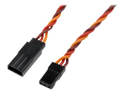 RC - Servo Extension Lead - HD Silicone Twisted - JR/Hitec - 22AWG / 60 Strands