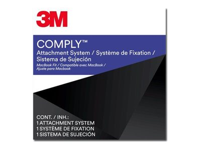 3M Comply Attachment System Apple Macbook Notebook privacy filter 11.6INCH-15.4INCH black