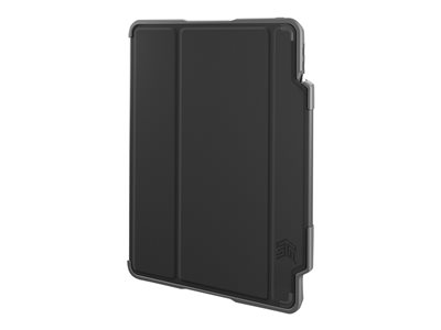 STM dux plus Flip cover for tablet polycarbonate, thermoplastic polyurethane (TPU) black