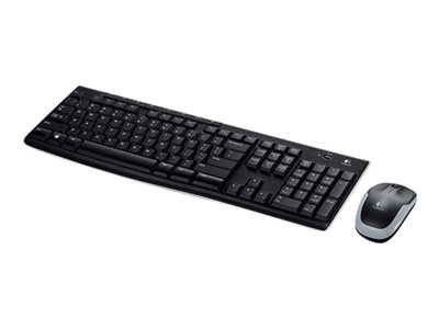 Logitech Wireless Combo MK270 - keyboard and mouse set - French