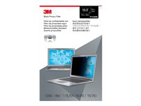 """3M Privacy Filter for 13.3"""" Widescreen Laptop with COMPLY Attachment System - Notebook privacy filter - 13.3"""" wide - black"""
