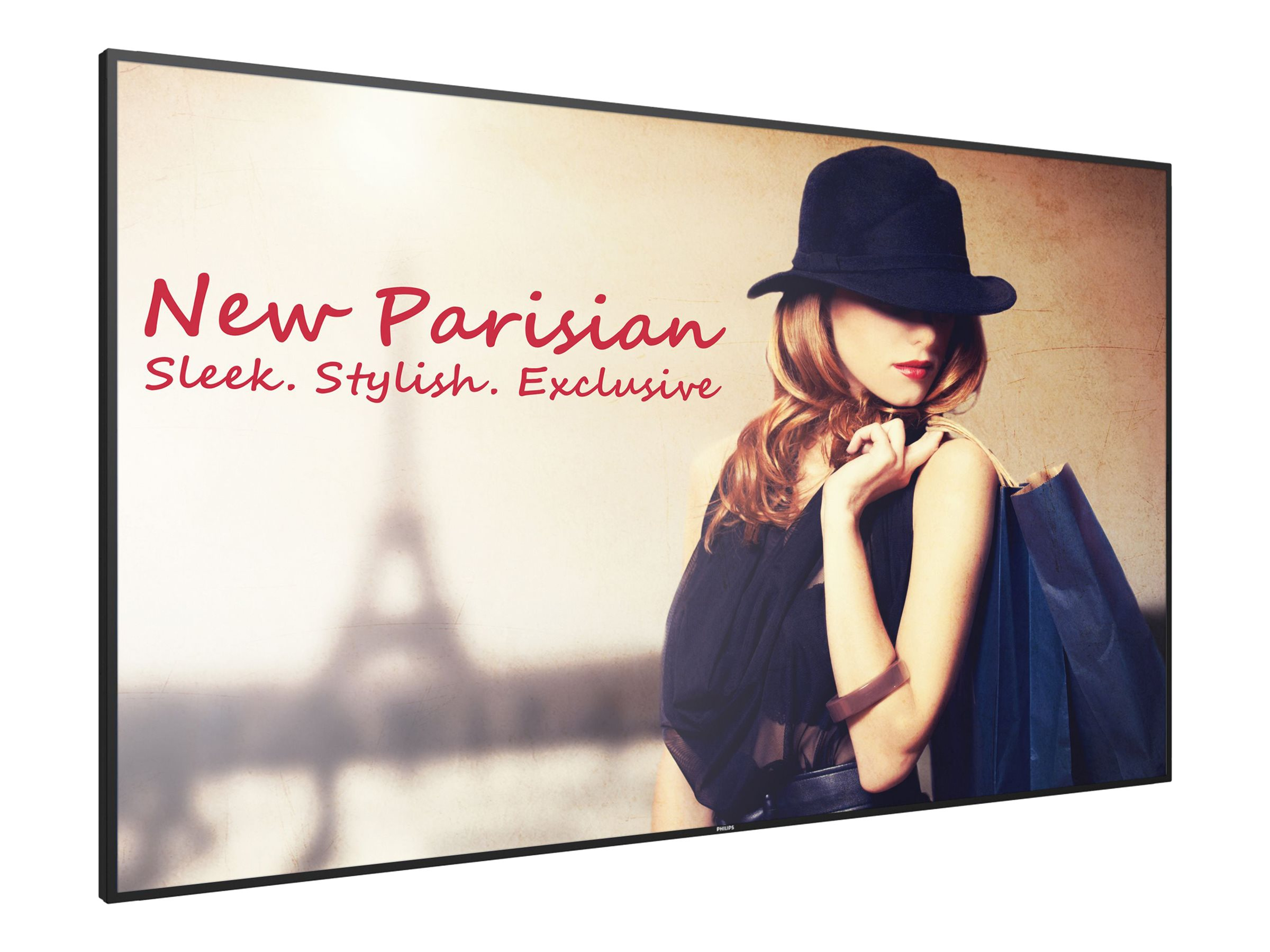 """Philips Signage Solutions D-Line 75BDL4150D 75"""" Class (74.5"""" viewable) LED display - 4K"""