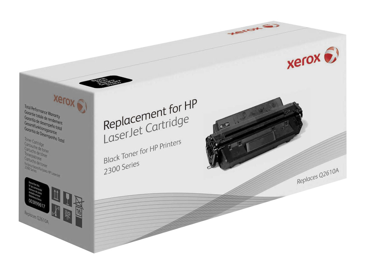 Xerox - black - original - toner cartridge (alternative for: HP 10A)