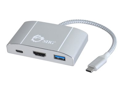 SIIG USB 3.1 Type-C Hub with HDMI & PD Charging Adapter Docking station USB HDMI