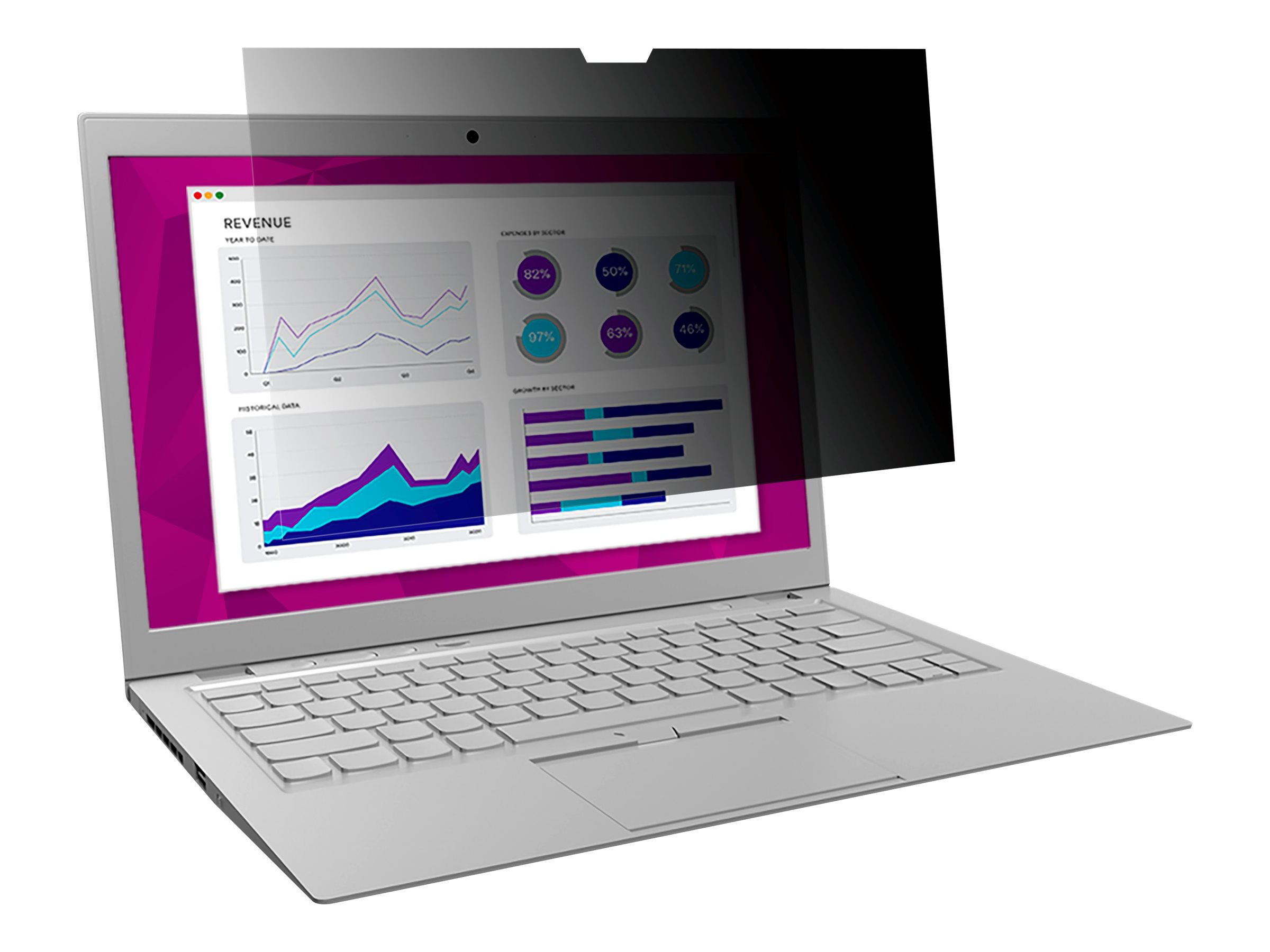 """3M High Clarity Privacy Filter for Surface Laptop 13.5"""" Laptops 3:2 with COMPLY notebook privacy filter"""